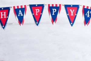 Holiday Banner for the 4th of July