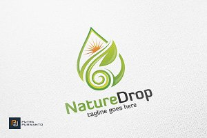 Nature Drop / Water - Logo Template