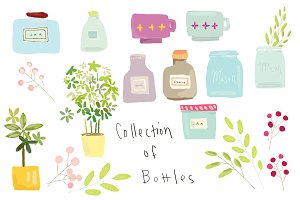 A Collection of Bottles
