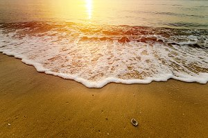 Beautiful tropical beach and sea.
