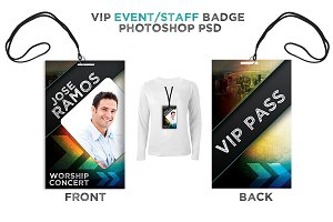 Press Pass / VIP All Access Pass