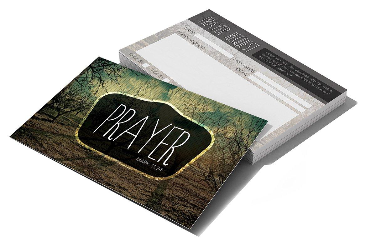 Prayer Request Card ~ Card Templates ~ Creative Market