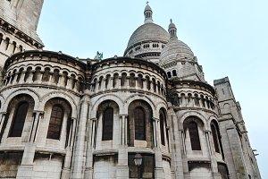 Basilica in Paris, France.