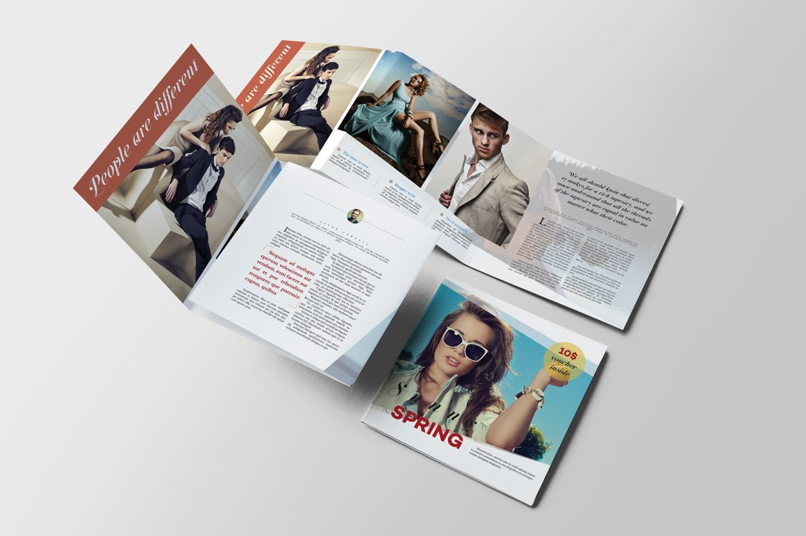 fashion brochure templates - lifestyle fashion brochure brochure templates