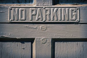 The prohibition of parking