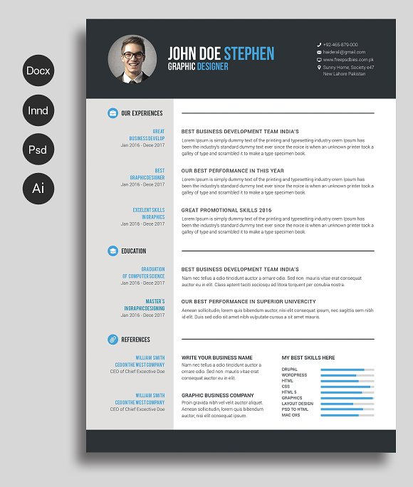 Microsoft Templates Resumes And Cvs Site