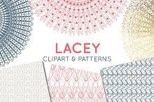 Lace Doily, Lace Border & Patterns