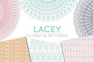 Lace Doily, Lace Border & Patterns