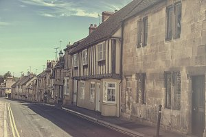 A street in the English Cotswolds