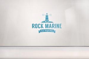 Shiny Plastic Logo Mock-up