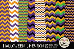 Halloween Chevron Texture Pack