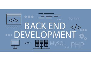Back end Development Banner