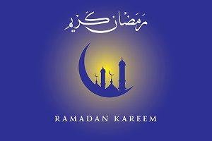 Ramadan Kareem Vector Temlate