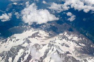 Alps glacier