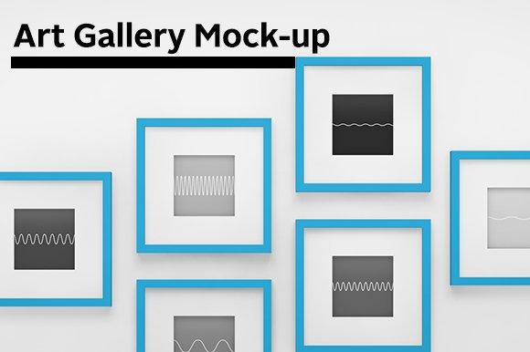 Free Art Gallery Mock-up