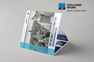 Trifold Corporate Brochure - V515
