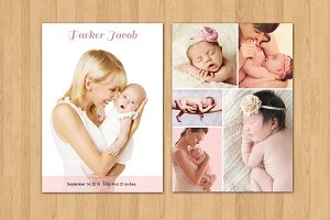 Birth Announcement Template-V11