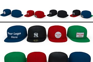 3D Fabric: 3DTreatment - Baseball Caps