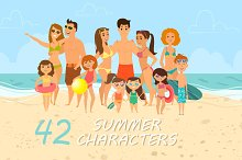 42 Summer characters