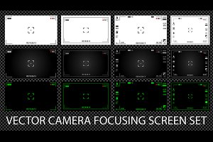 Camera focusing screens 13 in 1 pack