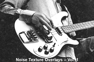 Noise Texture Overlays – Volume 1