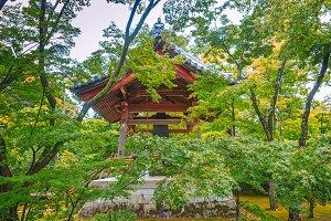 Belfry at Kinkakuji Temple in Kyoto