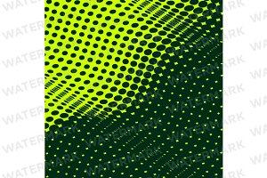 Dense half tone background pattern