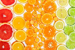 Fruit citrus background