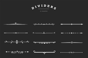 Decorative Dividers Overlays