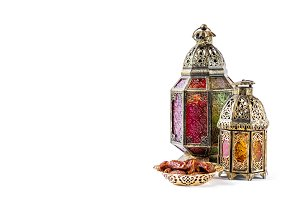 Oriental decoration lantern