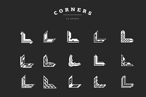 Corner Shape Overlays