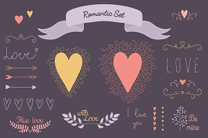 Romantic Elements Set