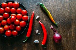 Fragrant vegetables