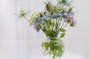 elegant wild flowers bouquet