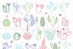 Cactus Photoshop Brushes