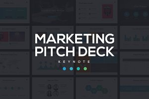 Marketing Pitch Deck Keynote