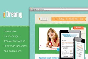 Dreamy - Responsive WordPress
