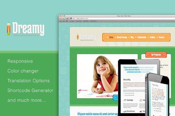 Dreamy - Responsive WordPress