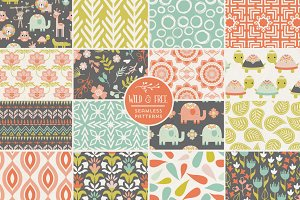 Wild and Free Jungle Patterns