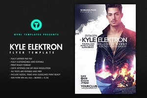 KYLE ELEKTRON Flyer Template