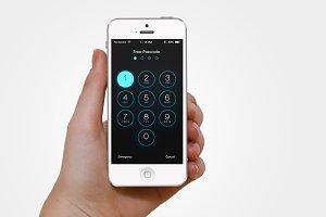 iOS Passcode Interface