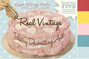 Vintage Pastry Decorating Art