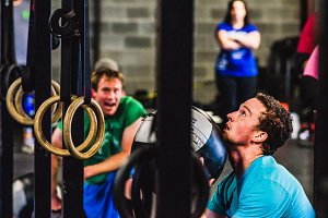 Crossfit Competition: Wallball