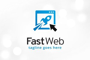 Fast Website Logo Template