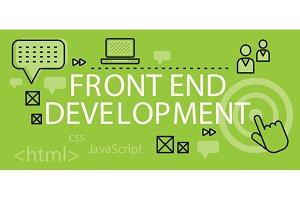 Front end Development Banner