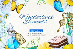 Alice in Wonderland Elements 1