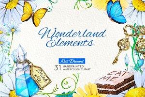 Alice in Wonderland Elements 1