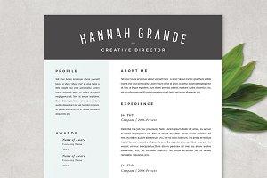 Resume Template - Hannah