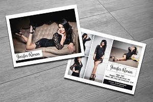 Modeling Comp Card Template-V302