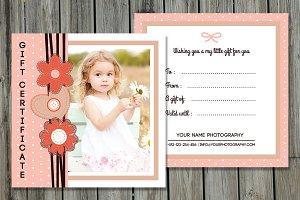 Photographer Gift Certificate-V07